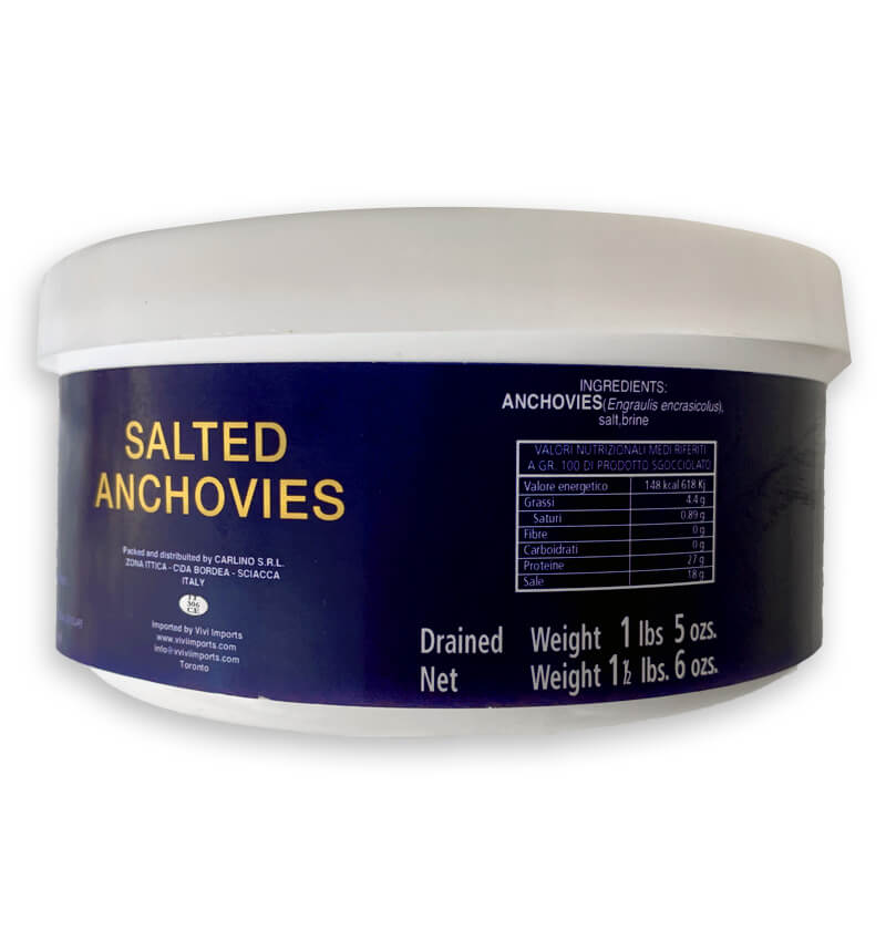 Salted Anchovies